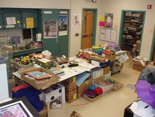 The Art Office at Mount Prospect School & Monthly Mentor
