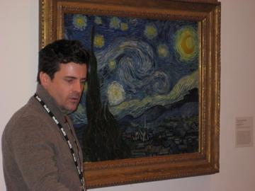 NateMorganteachingat MOMA