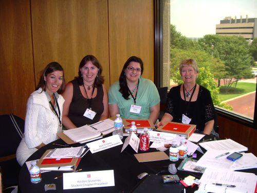 NAEA Student Chapter Presidential Team,jpg