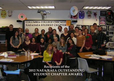 WEEK4BLOG32012 NAEA AWARD STUDENT CHAPTER