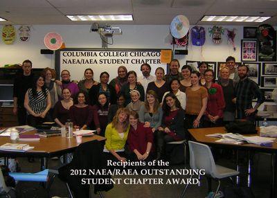 WEEK4BLOG32012 NAEA AWARD STUDENT CHAPTER