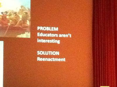 Problem_Museum educators are boring