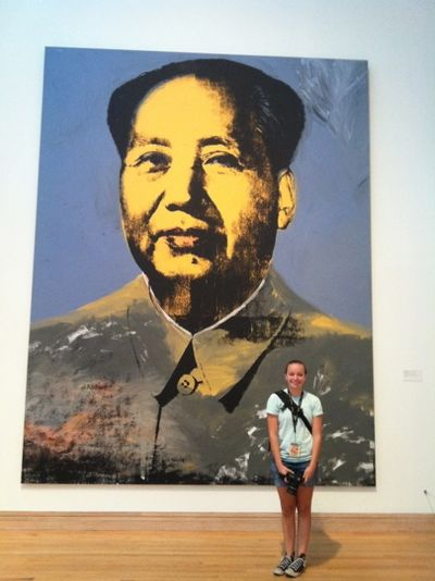 Rachel at MOMA