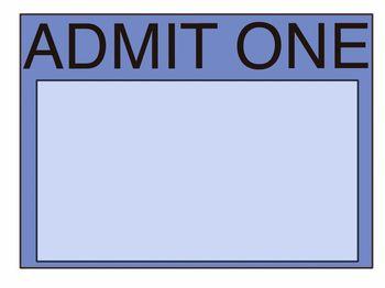 Admit One RJR