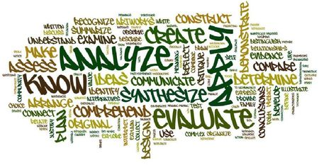 Wordle of Standards vocabulary