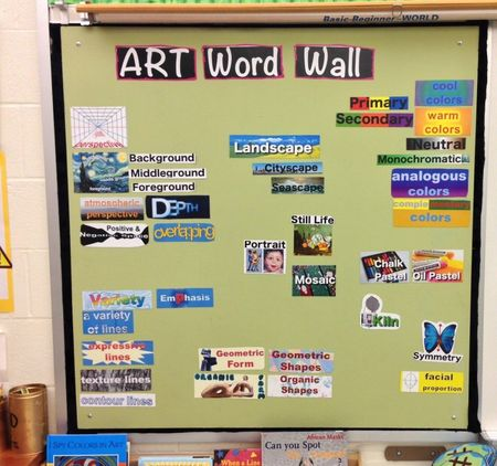 Teaching Palette word wall example Oct2012