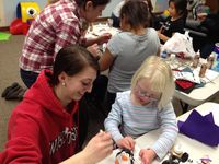 NAHS students working with children at Gigi's Playouse2