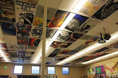My classroom ceiling