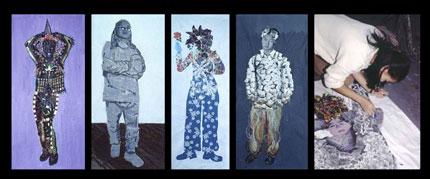 2-Materials-Based-Self-Portraits-at-Spiral-Workshop