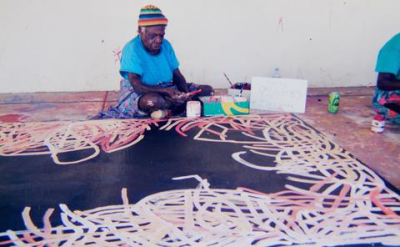 Kngwarreye painting  Delmore gallery