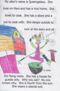 6_Drawing with Text, Third Grade