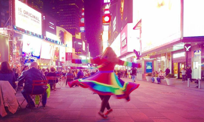 Schnick - 2017 NAEA NYC Time Square Twirling