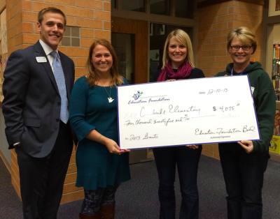 Schnick's 2013 Franklin Community Schools Education Foundation grant