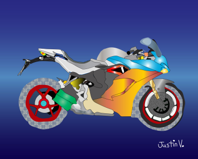 Photo 3_Motorcycle Drawing