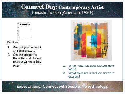 Connect Days  Art Studio  2019-2020  - Google Slides